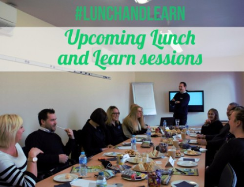 Upcoming Lunch and Learn Sessions #lunchandlearn