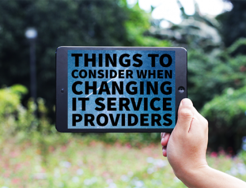 Things To Consider When Changing IT Service Providers