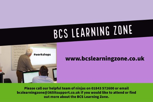 Workshops Scheduled in the BCS Learning Zone