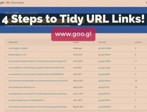 4 Steps to Tidy URL Links!