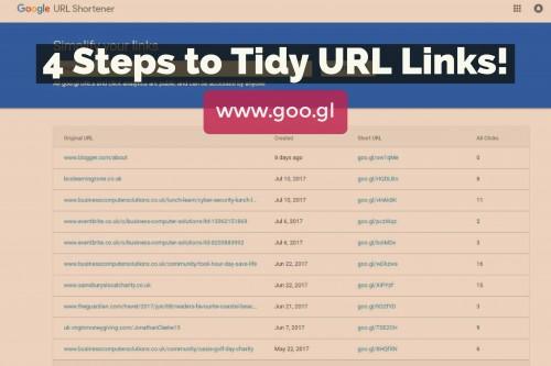 4 Steps to Tidy URL Links!