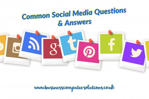 Common Social Media Questions & Answers