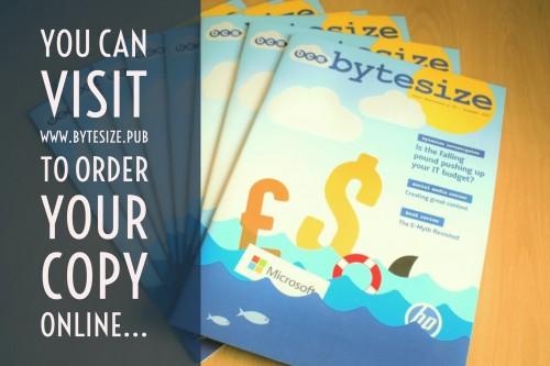Latest ByteSize Magazine at a Leisure Centre Near You!