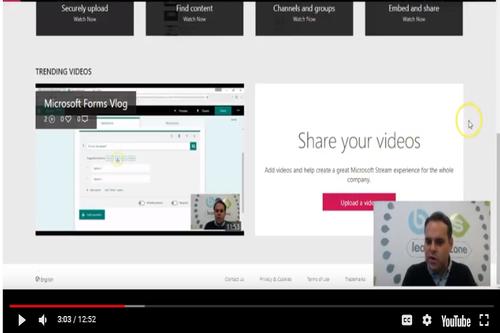 Vlog – What is Microsoft Stream