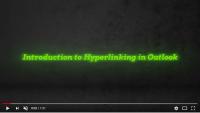 Hyperlinking in Outlook