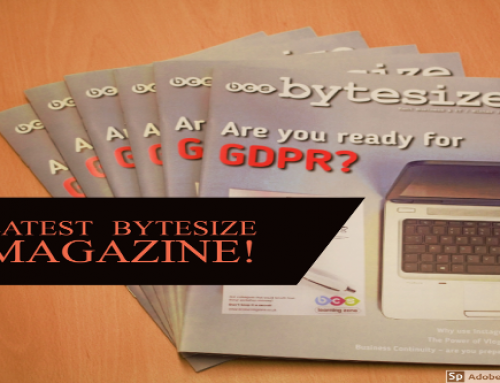 Latest Bytesize Magazine is Making it's Way Around Kent