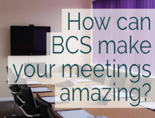 How can BCS make your meetings amazing?