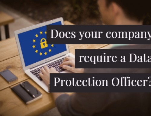Does your company require a Data Protection Officer?