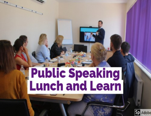 Public Speaking Lunch and Learn!
