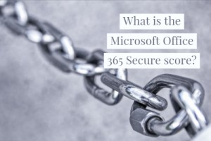 Microsoft Office Secure Score