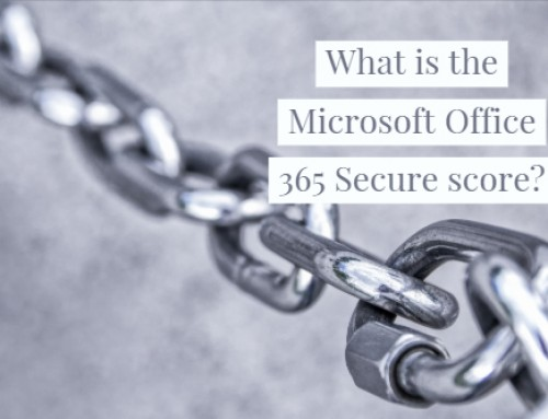 What is the Microsoft Office 365 Secure score?