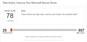 improve my microsoft office secure score