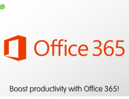 Boost productivity with Office 365!
